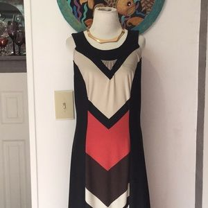 New Directions Black Stretchy Maxi Dress Size L